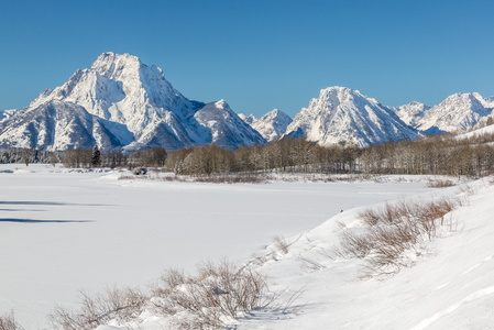 Owbow Bend Frozen #1