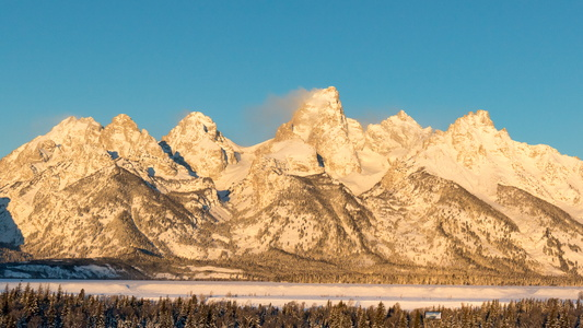 Sunrise on the Tetons #8