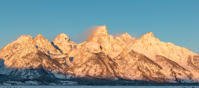 Sunrise on the Tetons #7