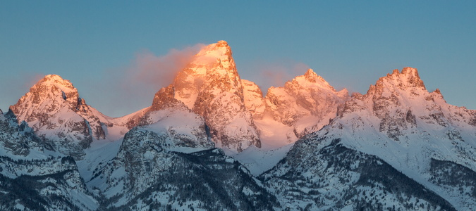 Sunrise on the Tetons #6