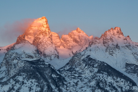 Sunrise on the Tetons #5