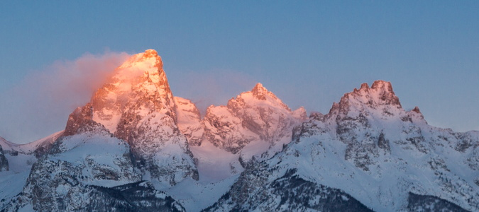 Sunrise on the Tetons #4