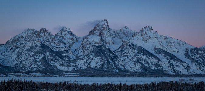 Tetons at Dawn #2
