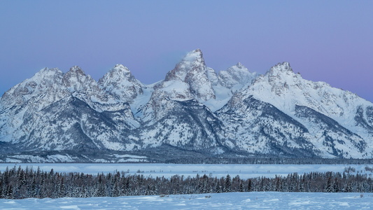 Tetons at Dawn #1