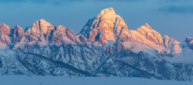 Sunrise on the Tetons #3