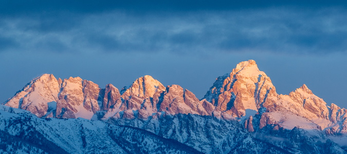 Sunrise on the Tetons #2