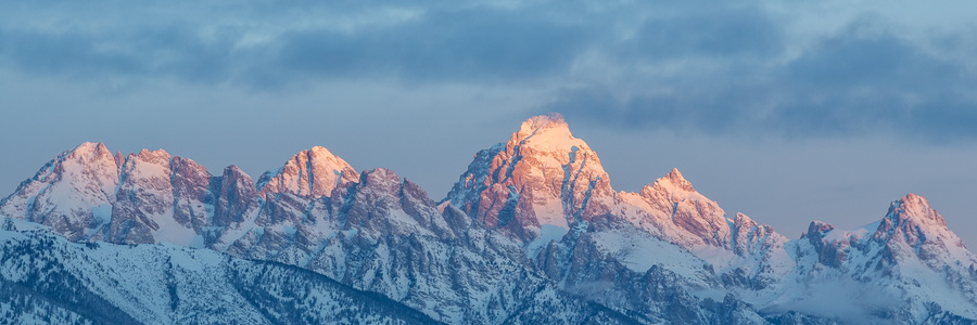 Sunrise on the Tetons #1