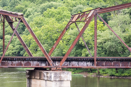 Stanaford Railroad Bridge #1