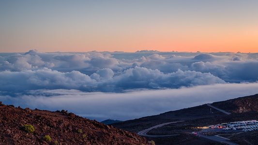 Haleakala Sunrise Parking