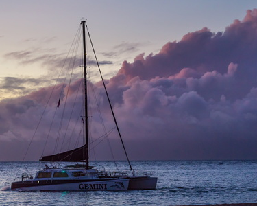 Sunset Catamaran #1