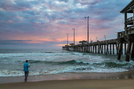 Jennette's Pier at Dawn #4