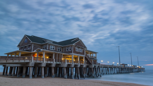 Jennette's Pier at Dawn #3