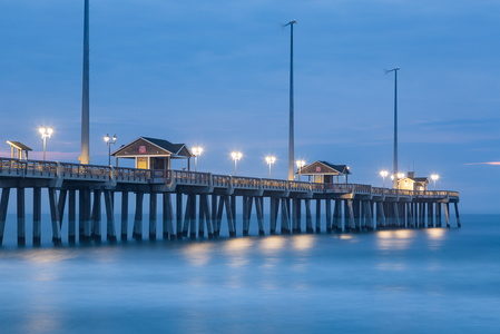 Jennette's Pier at Dawn #2