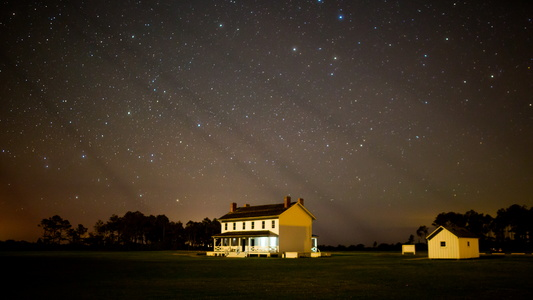 Lightkeeper's House at Night