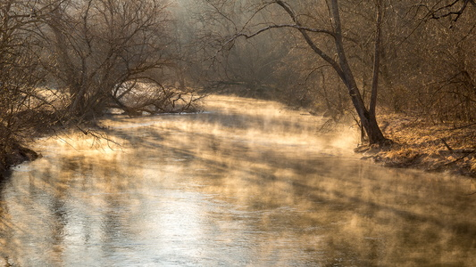 Sunrise on Antietam Creek