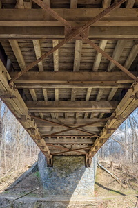 Underneath Kurtz's Mill Bridge