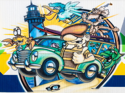 Outer Banks Graffiti