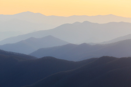 Clingman's Dome at Sunset #1