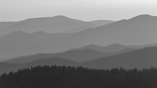 Clingman's Dome at Sunset #2