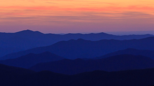 Clingman's Dome at Sunset #3