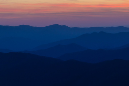 Clingman's Dome at Sunset #4
