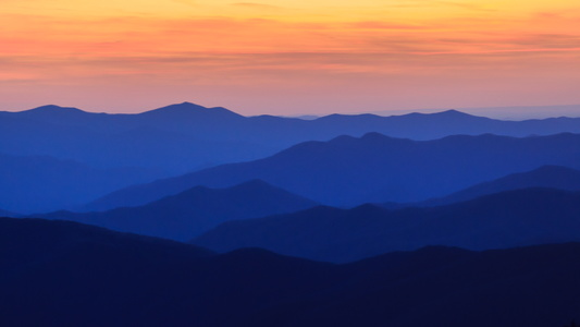 Clingman's Dome at Sunset #5