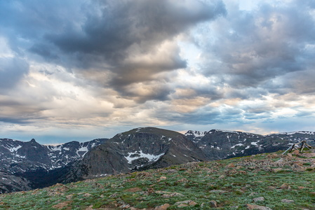 Trail Ridge Road Sunset #2