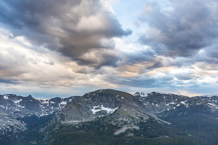 Trail Ridge Road Sunset #3