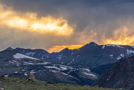 Trail Ridge Road Sunset #1