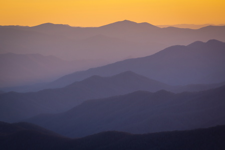 Clingman's Dome at Sunset #6