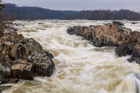 Great Falls at High Water #4