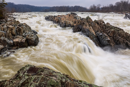 Great Falls at High Water #3