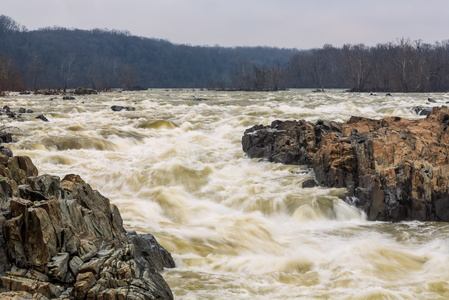 Great Falls at High Water #2