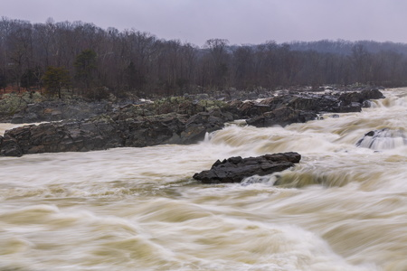 Great Falls at High Water