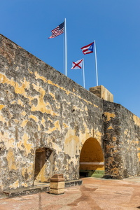 Flags Over El Morro