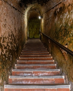 Stairs Into the Fortress