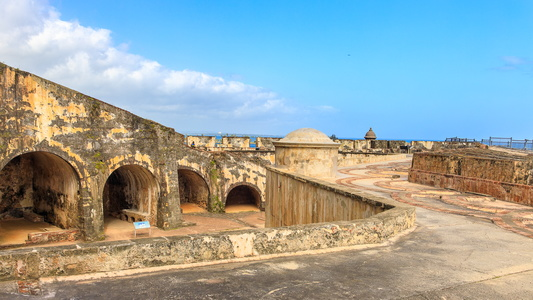El Morro Main Battery
