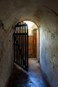 Open Door in El Morro