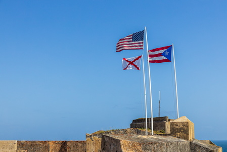 Three Flags Over El Morro