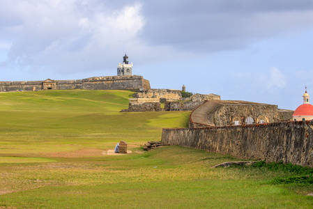 Walls to El Morro