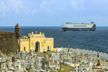Cemetery and Freighter