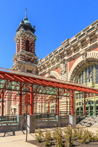 Entrance to Ellis Island