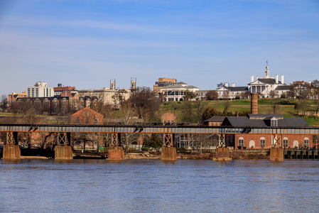 Richmond from the James River