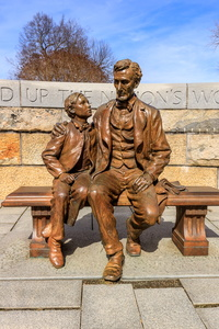 Lincoln and Son Sculpture #3