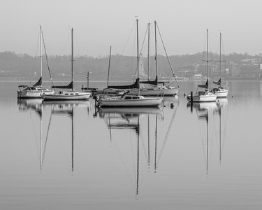 Sailboat Reflections #4