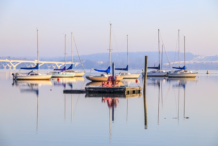 Sailboat Reflections #2