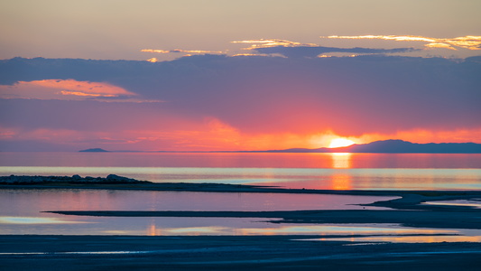 Antelope Island Sunset #6