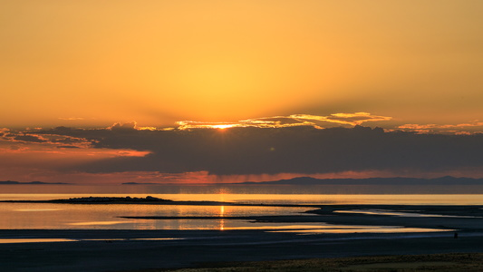 Antelope Island Sunset #3