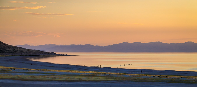 Antelope Island Sunset #2