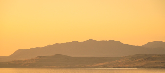 Antelope Island Sunset #1
